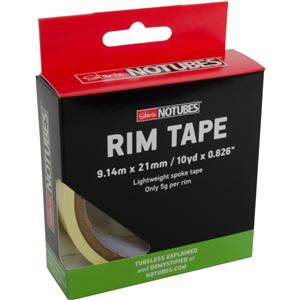 Fond de jantes Notubes Yellow Tape 21 mm