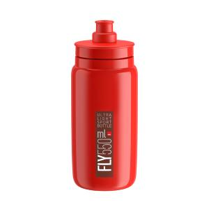 Bidon Elite FLY Rouge Logo Noir 500 ML