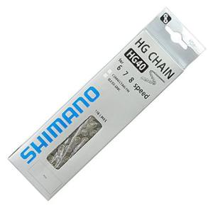 Chaine Shimano 6/7/8 vitesses CN-HG 40 116 Maillons