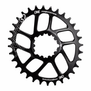 Plateau Mono Ovale Direct Mount 6° (Sram) 1X10/11/12V 32 dts Noir NW ONE UP