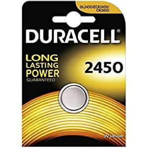 Pile bouton Duracell  CR-2450 3 Volts Lithium